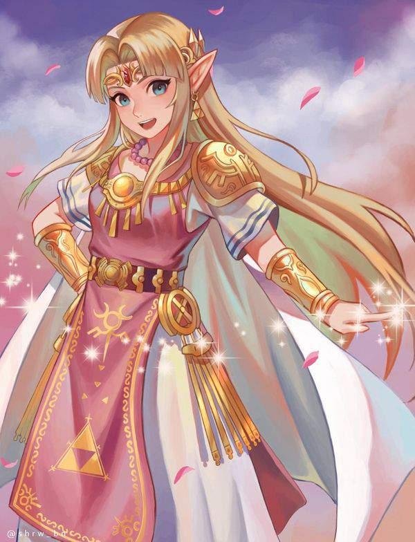 【ゼルダの伝説シリーズ】ゼルダ姫のエロ画像【31】