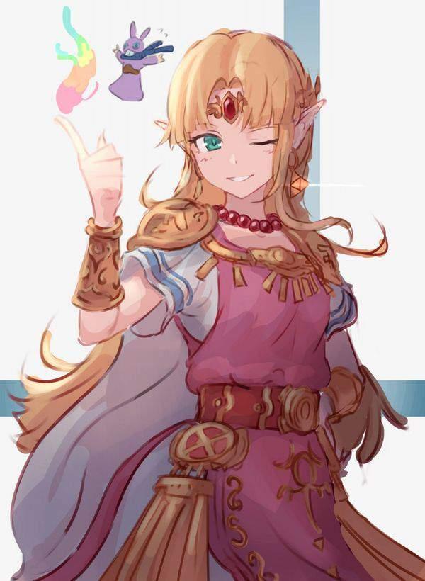 【ゼルダの伝説シリーズ】ゼルダ姫のエロ画像【36】