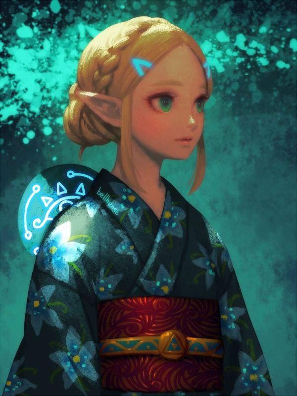 【ゼルダの伝説シリーズ】ゼルダ姫のエロ画像【38】