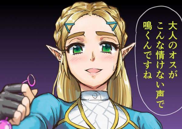 【ゼルダの伝説シリーズ】ゼルダ姫のエロ画像【50】