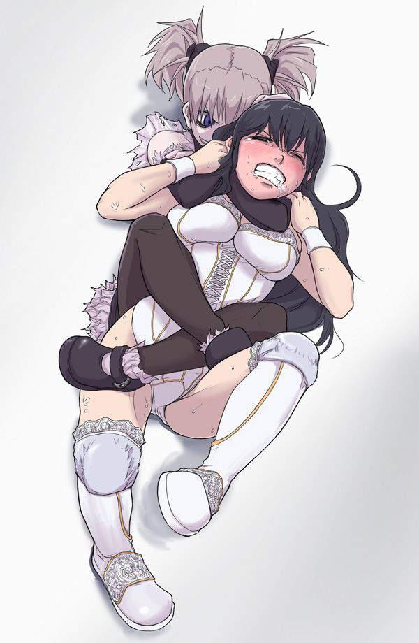 【落ちろ!】首絞められて苦しそうな女子達の二次リョナ画像【・・・落ちたな】【4】