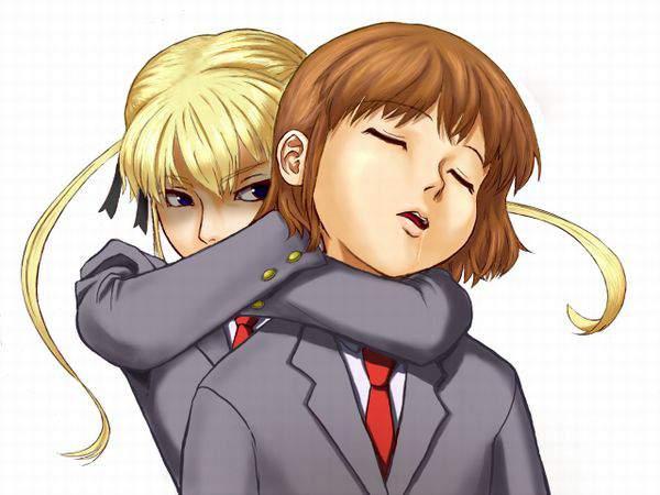 【落ちろ!】首絞められて苦しそうな女子達の二次リョナ画像【・・・落ちたな】【8】