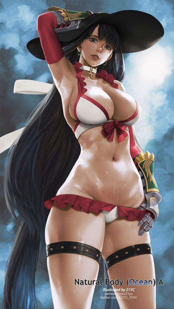 【Fate/GrandOrder】マルタ(水着)のエロ画像【37】
