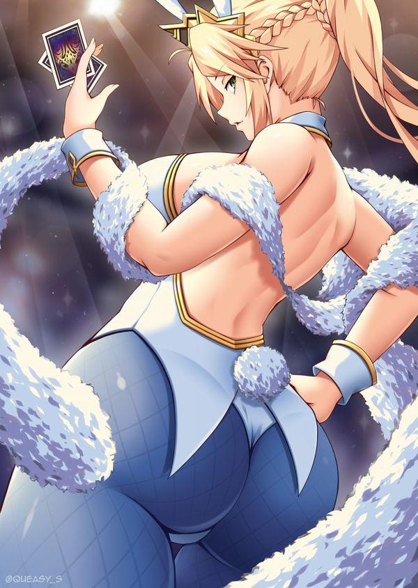 【Fate/GrandOrder】水着獅子王のエロ画像【45】