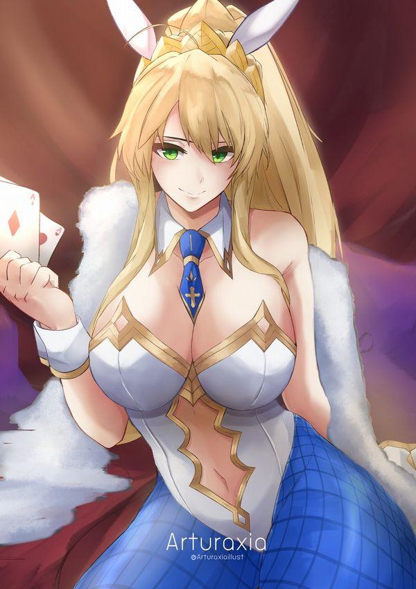 【Fate/GrandOrder】水着獅子王のエロ画像【48】