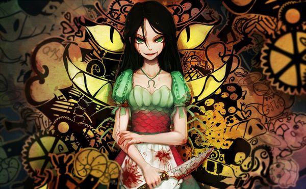【その勘が言ってる】血の着いたナイフや包丁を手にしてコッチを見つめる女子達の二次エロ画像【オレはここで死ぬ】【33】