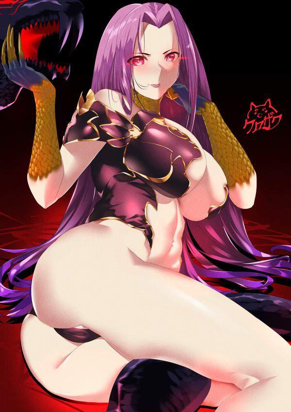 【Fate/GrandOrder】ゴルゴーンのエロ画像【12】