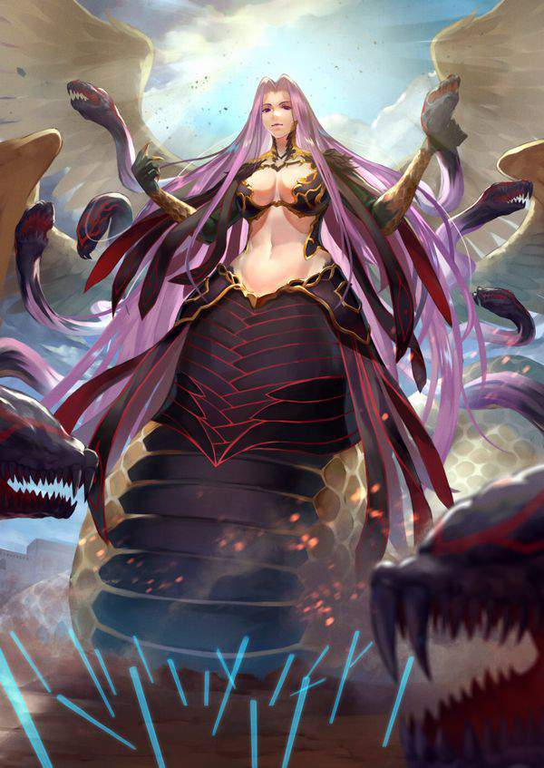 【Fate/GrandOrder】ゴルゴーンのエロ画像【16】