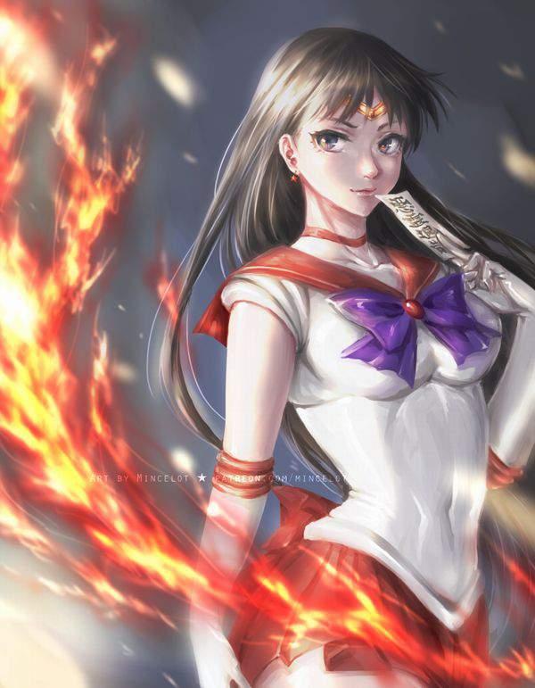 【美少女戦士セーラームーン】火野レイ(ひのれい)のエロ画像【セーラーマーズ】【32】