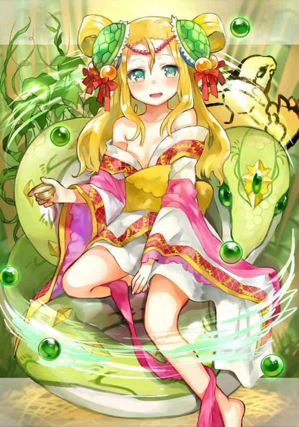 【パズドラ】玄武の化身・メイメイのエロ画像【Puzzle&Dragons】【33】