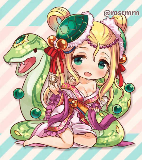 【パズドラ】玄武の化身・メイメイのエロ画像【Puzzle&Dragons】【38】
