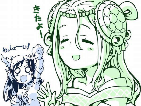 【パズドラ】玄武の化身・メイメイのエロ画像【Puzzle&Dragons】【50】