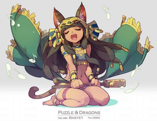 【パズドラ】バステト(Bastet)のエロ画像【Puzzle&Dragons】【45】