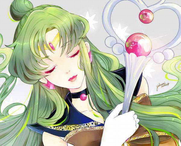 【美少女戦士セーラームーン】冥王せつな(めいおうせつな)のエロ画像【セーラープルート】【16】