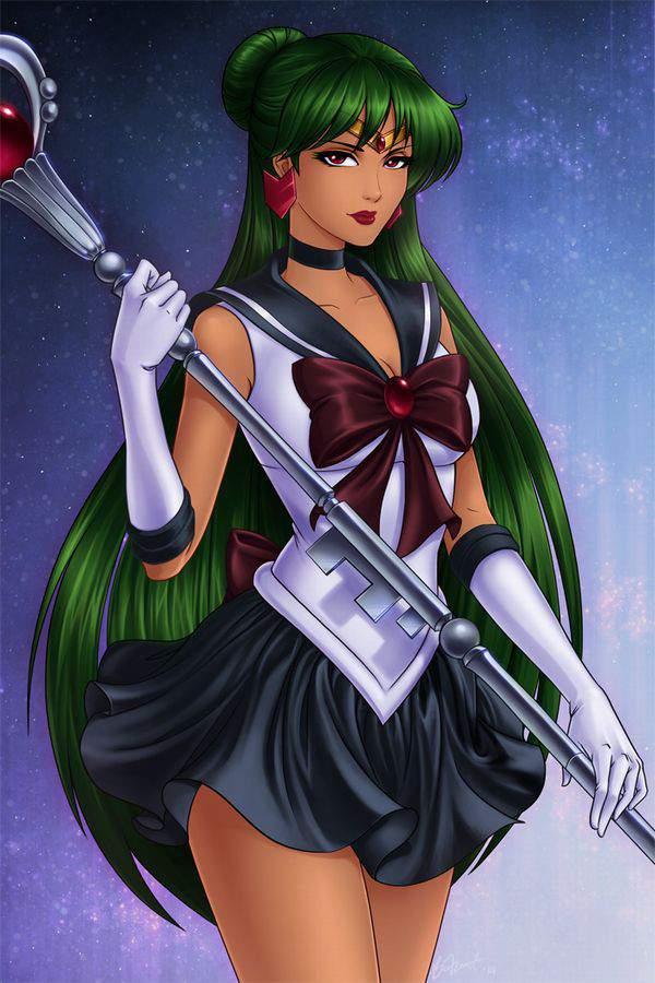 【美少女戦士セーラームーン】冥王せつな(めいおうせつな)のエロ画像【セーラープルート】【45】