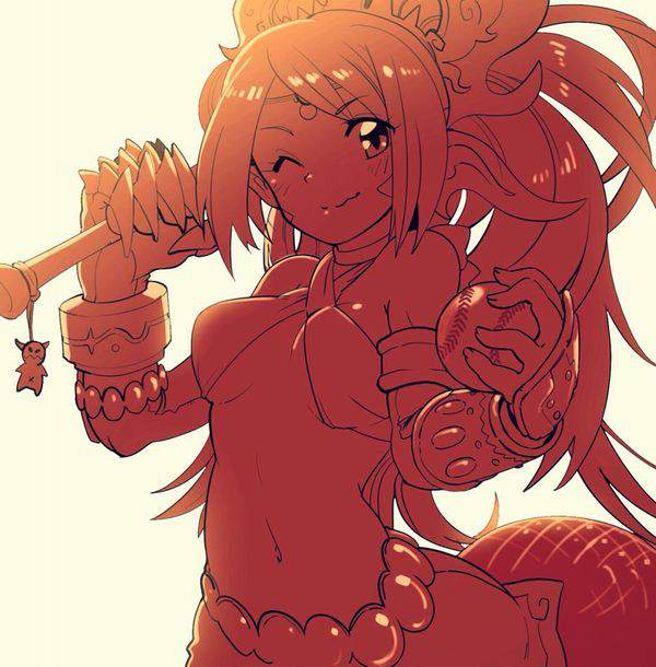 【パズドラ】エキドナ(Echidna)のエロ画像【Puzzle&Dragons】【26】