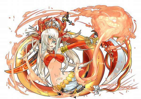 【パズドラ】エキドナ(Echidna)のエロ画像【Puzzle&Dragons】【29】