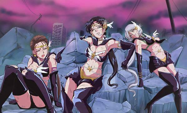 【美少女戦士セーラームーン】セーラースターファイター・セーラースターメイカー・セーラースターヒーラーのエロ画像【セーラースターライツ】