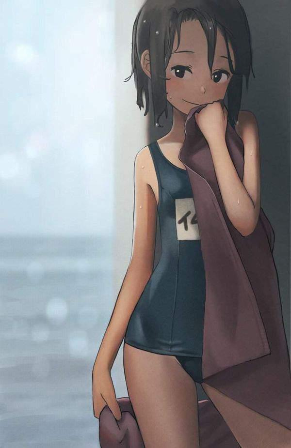 【トリプルコラボ】貧乳×スク水×名札な二次エロ画像【30】