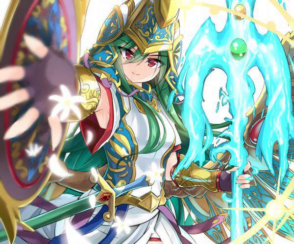 【パズドラ】アテナ(Athena)のエロ画像【Puzzle&Dragons】【16】