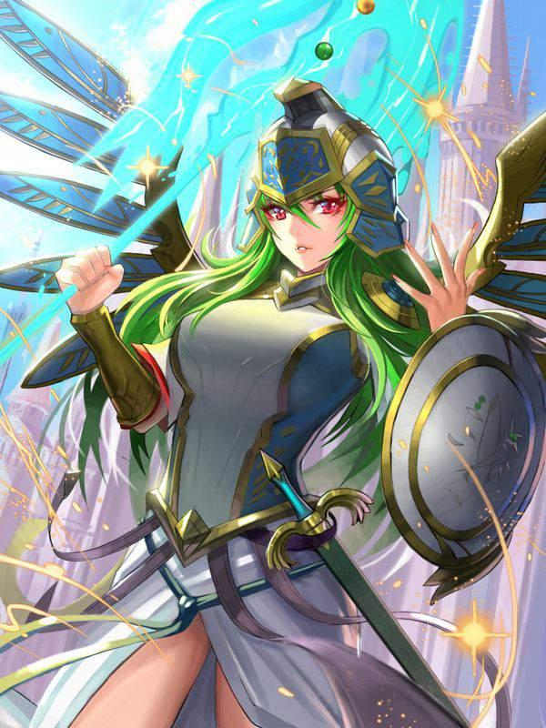 【パズドラ】アテナ(Athena)のエロ画像【Puzzle&Dragons】【20】