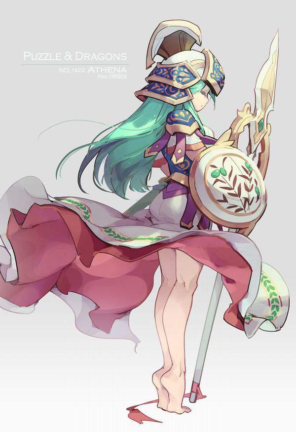【パズドラ】アテナ(Athena)のエロ画像【Puzzle&Dragons】【49】