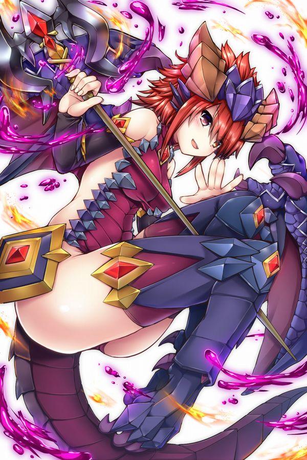 【パズドラ】ソニア(Sonia)のエロ画像【Puzzle&Dragons】【19】