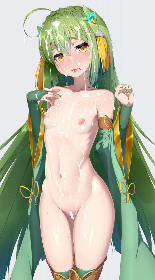 【体脂肪率低し】うっすらアバラが浮いてるスレンダーな女の子の二次エロ画像【7】