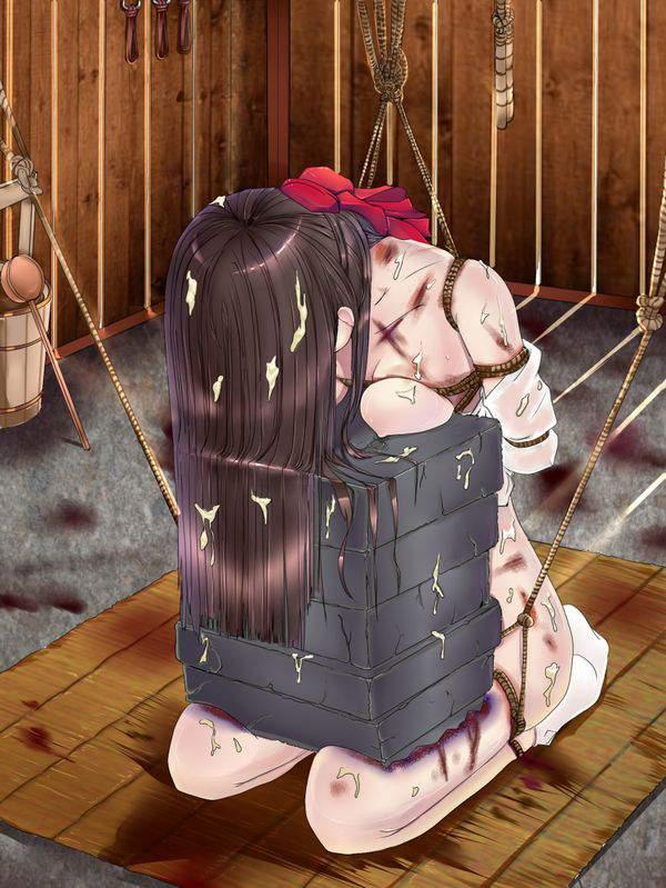 【死ぬ事は避けられない】女の子がガチで拷問されてる二次リョナ画像【3】