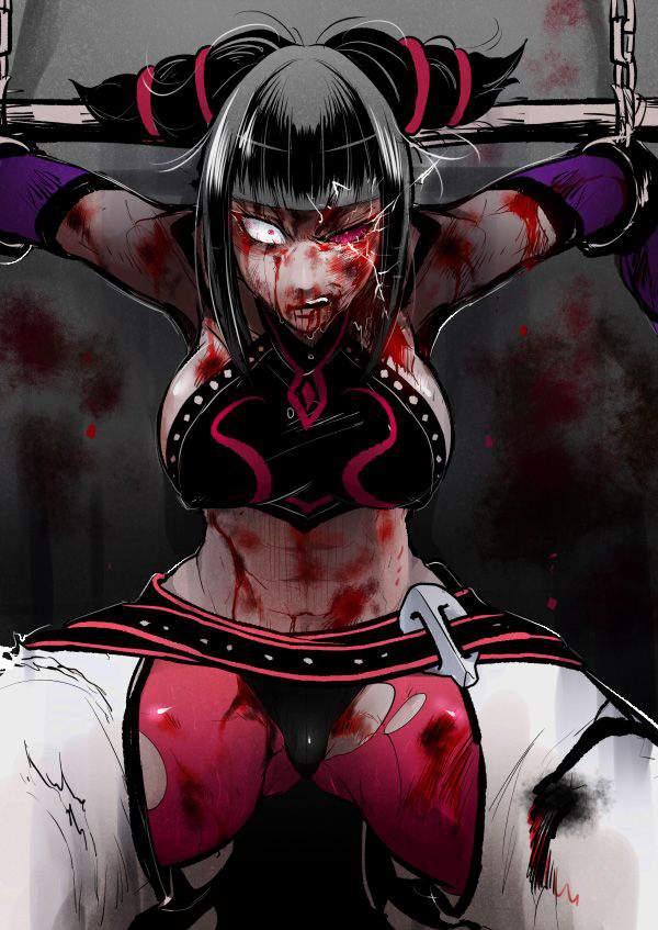 【死ぬ事は避けられない】女の子がガチで拷問されてる二次リョナ画像【33】