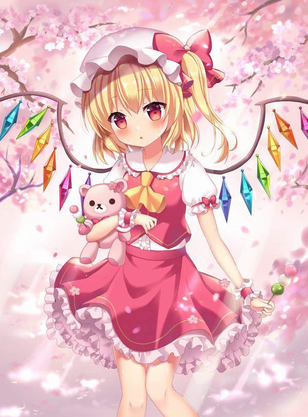 【今年も花見の季節】桜を見ながら三色だんごを食べる女子達の二次画像【23】