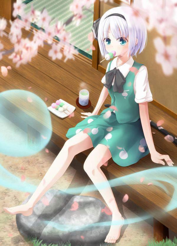 【今年も花見の季節】桜を見ながら三色だんごを食べる女子達の二次画像【38】