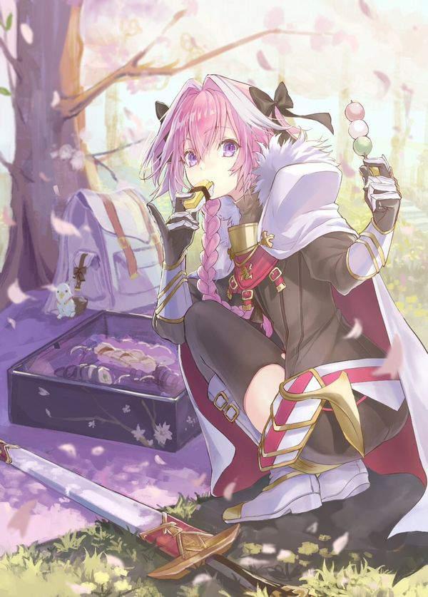 【今年も花見の季節】桜を見ながら三色だんごを食べる女子達の二次画像【39】