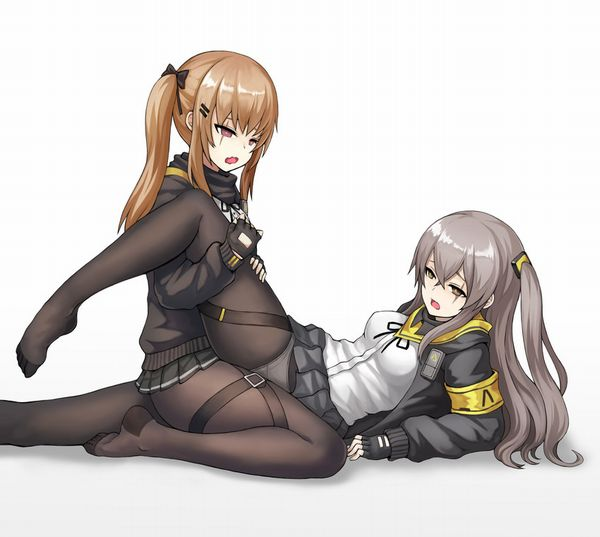 【レズです】松葉崩しで貝合わせする女子達の二次エロ画像【29】
