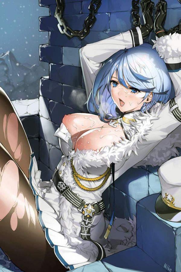 【昔のジャンプなら許された表現】洋服が破けて乳首が見えてる二次エロ画像【29】