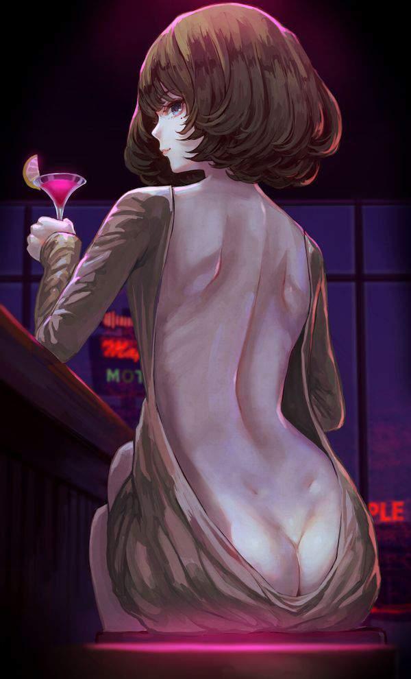 【都内は入店自粛要請中】バーでお酒を嗜む女子達の二次画像【4】