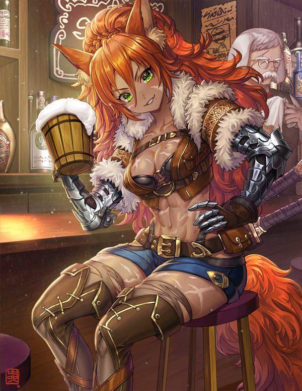 【都内は入店自粛要請中】バーでお酒を嗜む女子達の二次画像【16】