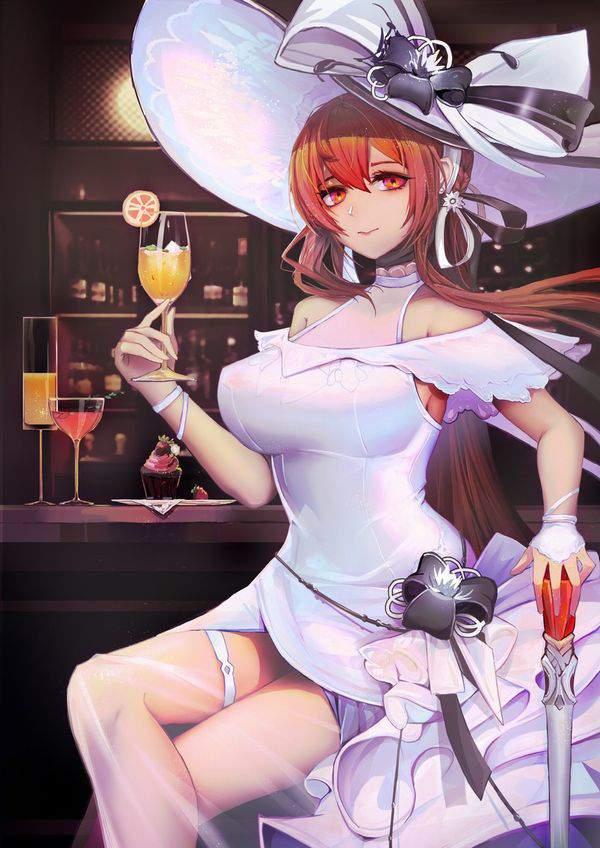 【都内は入店自粛要請中】バーでお酒を嗜む女子達の二次画像【17】