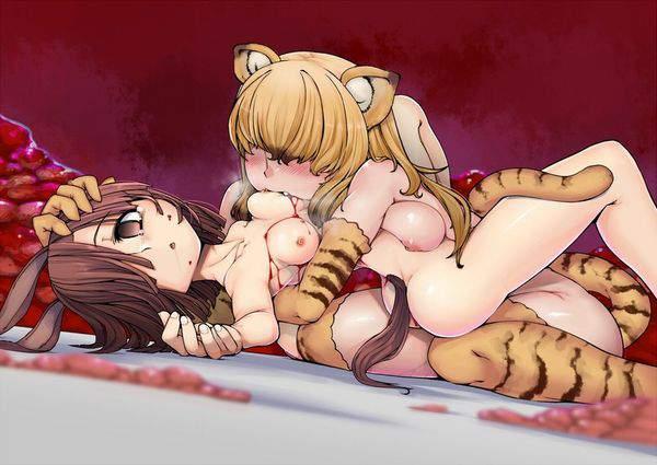 【ネコとタチ】役割分担がはっきりしてるカップルの二次レズ画像【40】