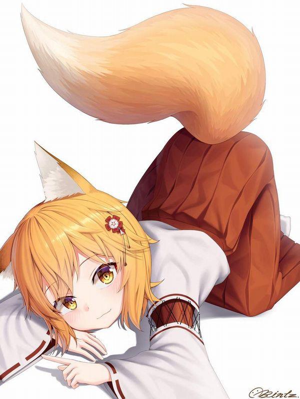 【コミックNewtype】世話やきキツネの仙狐さんのエロ画像【21】