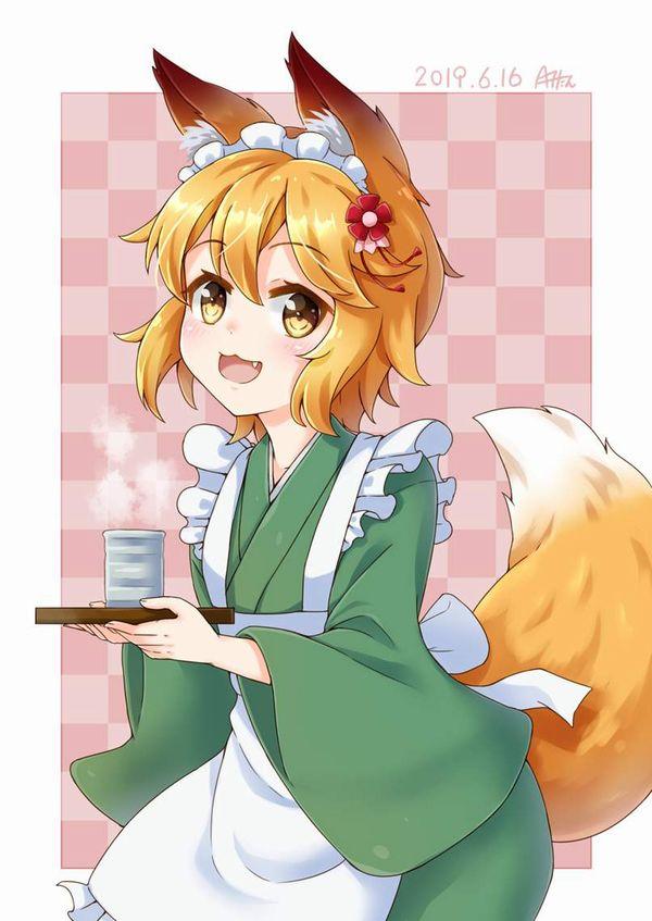 【コミックNewtype】世話やきキツネの仙狐さんのエロ画像【37】