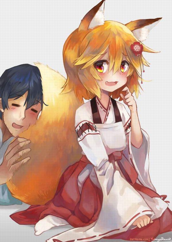 【コミックNewtype】世話やきキツネの仙狐さんのエロ画像【42】