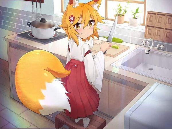 【コミックNewtype】世話やきキツネの仙狐さんのエロ画像【46】