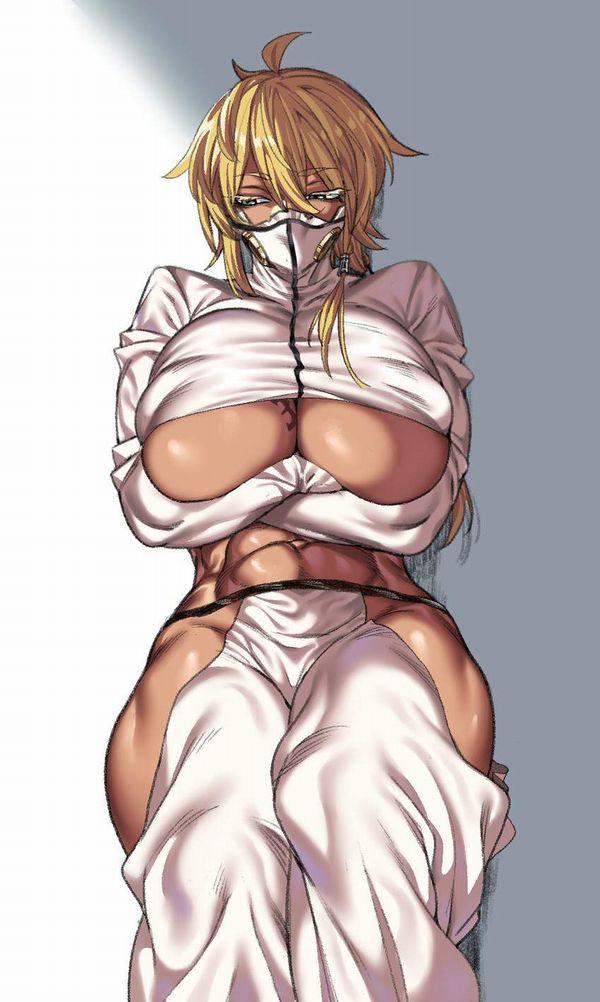 【多分ヤリマン(偏見)】下乳見える服を着てる女子達の二次エロ画像【22】