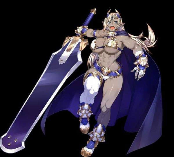 【防御力に一抹の不安】露出の多い格好してる女剣士達の二次エロ画像【8】