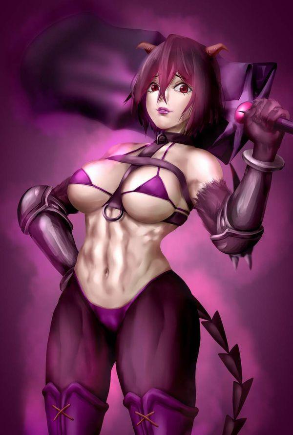【防御力に一抹の不安】露出の多い格好してる女剣士達の二次エロ画像【11】