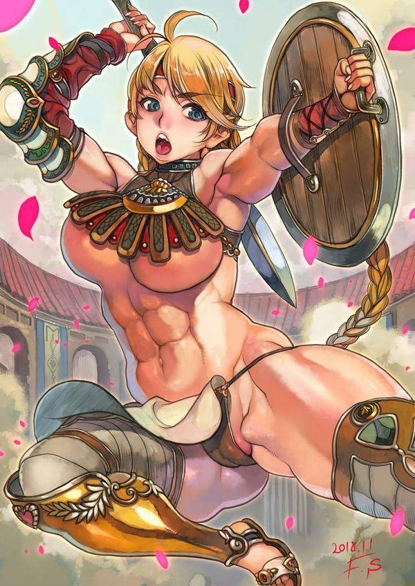 【防御力に一抹の不安】露出の多い格好してる女剣士達の二次エロ画像【21】