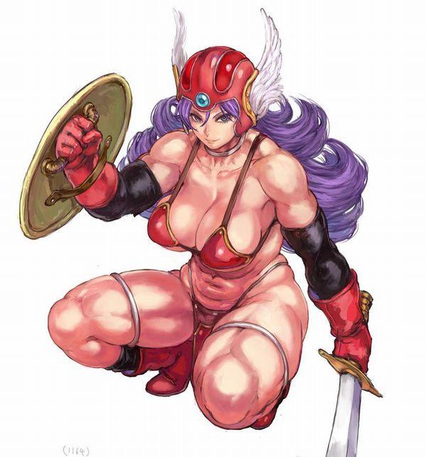 【防御力に一抹の不安】露出の多い格好してる女剣士達の二次エロ画像【27】