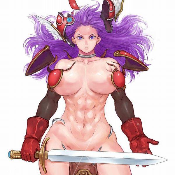 【防御力に一抹の不安】露出の多い格好してる女剣士達の二次エロ画像【33】