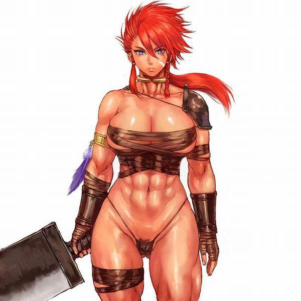 【防御力に一抹の不安】露出の多い格好してる女剣士達の二次エロ画像【34】
